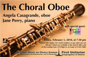 Season 16 - The Choral Oboe